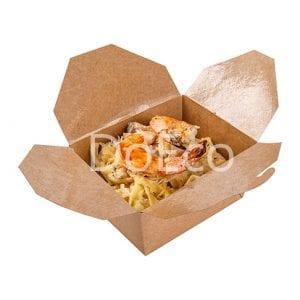 """Fold box pure kraft doeco 300x300 - Fold Box """"Pure Kraft"""" (Contenitore multiuso)"""
