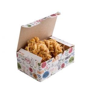 "eco fast food box enjoy doeco 300x300 - Nugget Box ""Enjoy"""