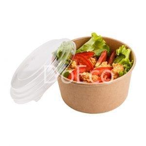 eco salad rcont doeco 300x300 - Contenitore di cartone rotondo con coperchio trasparente